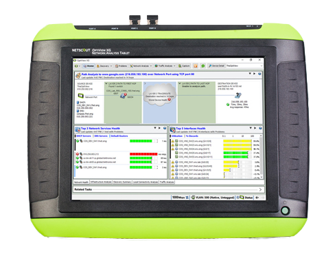 OptiView XG Network Analysis Tablet